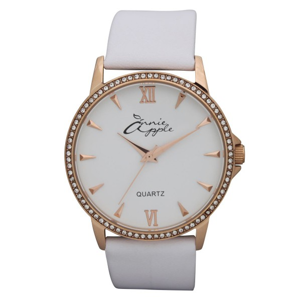 Timeless rose gold and white