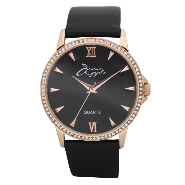 Timeless rose gold and black