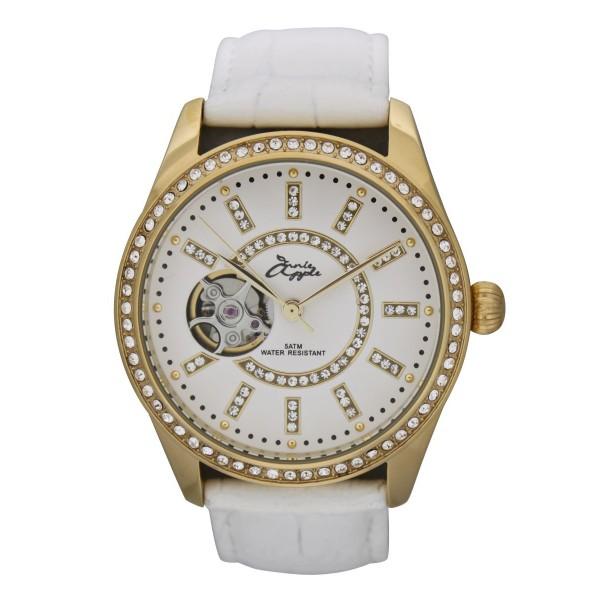 Eternity gold case white dial white strap