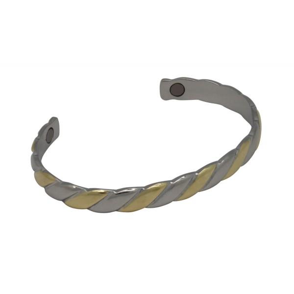 BER002 - Unisex Magnetic Copper Bangle Cuff Bracelet