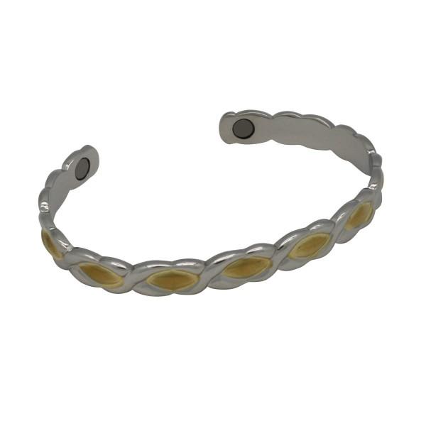 BER003 - Unisex Magnetic Copper Bangle Cuff Bracelet