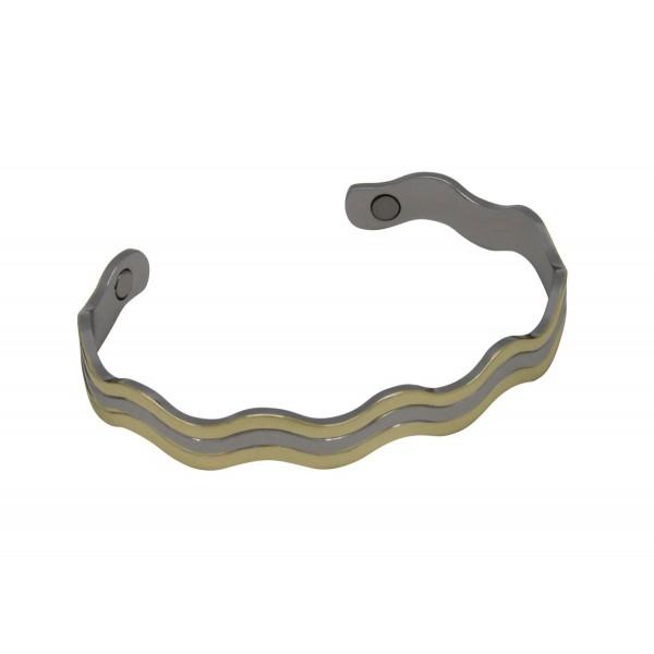 BER004 - Unisex Magnetic Copper Bangle Cuff Bracelet