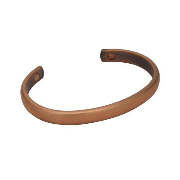 BER005 - Unisex Magnetic Copper Bangle Cuff Bracelet