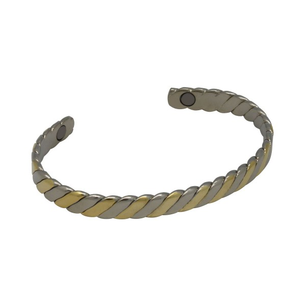 BER007 - Unisex Magnetic Copper Bangle Cuff Bracelet