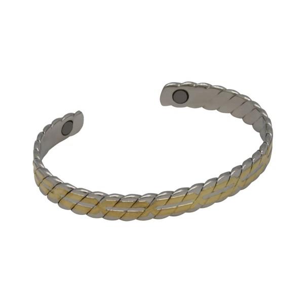 BER008 - Unisex Magnetic Copper Bangle Cuff Bracelet