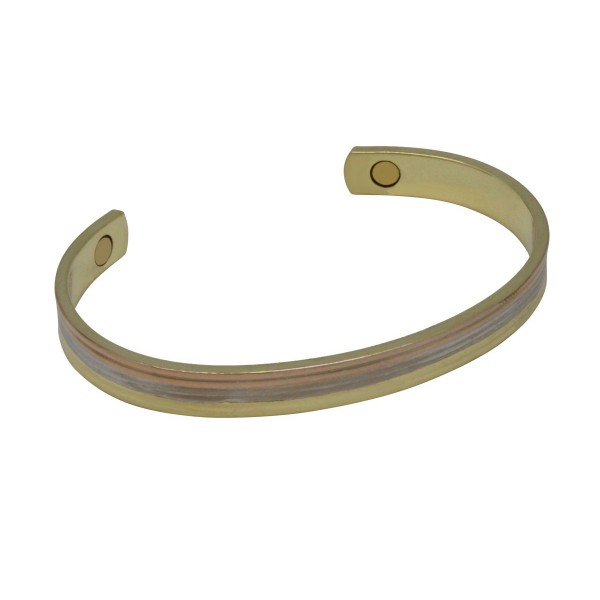BER009 - Unisex Magnetic Copper Bangle Cuff Bracelet