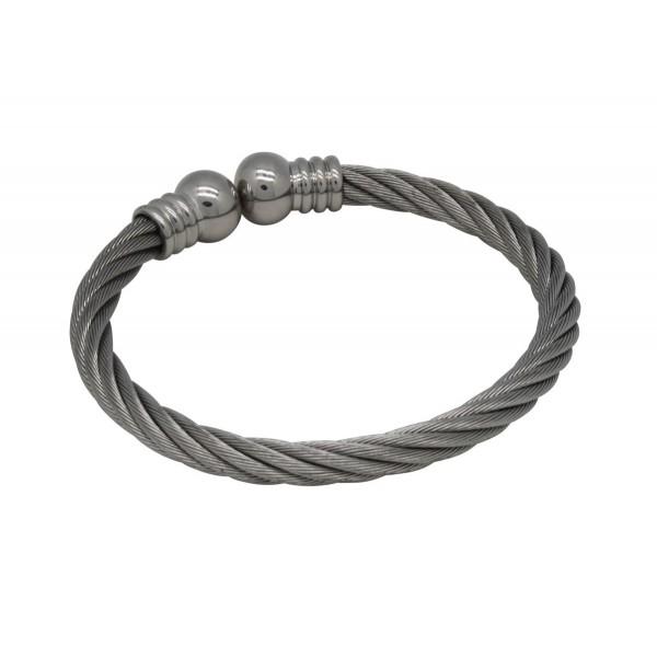 BER011 - Unisex Magnetic Copper Bangle Cuff Bracelet
