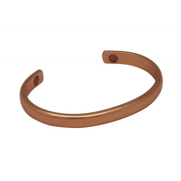 BER015 - Unisex Magnetic Copper Bangle Cuff Bracelet