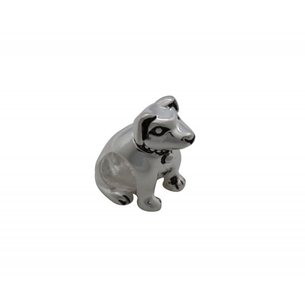 SCH013 - 2.65 Gram Solid 925 Sterling Silver Animal/Dog/Puppy Love Gift Charm Pendant