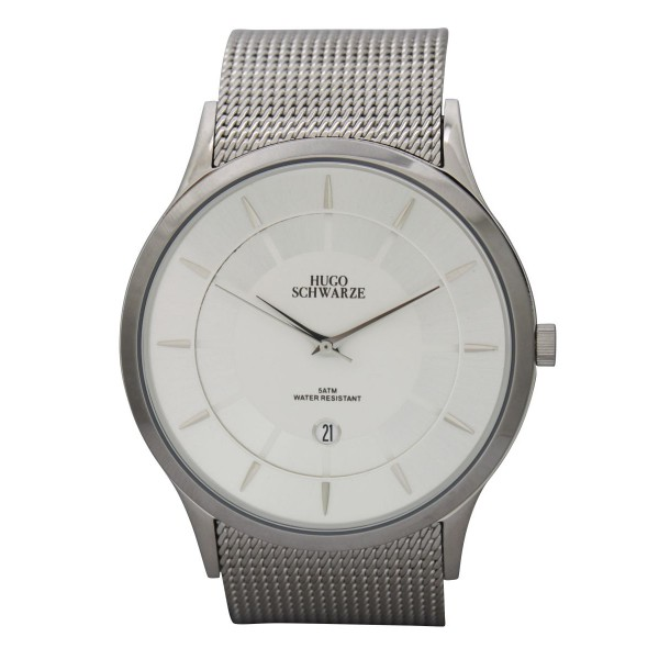 Hendrik silver watch