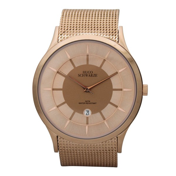 Hendrik rose gold watch