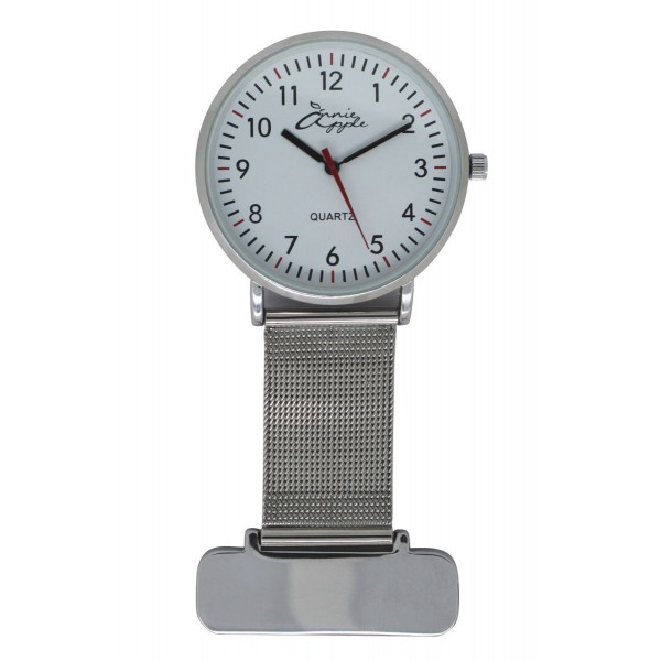 Silver Nurses Fob Watch