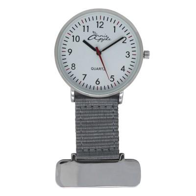 Silver Interchangable Nurses Fob Watch