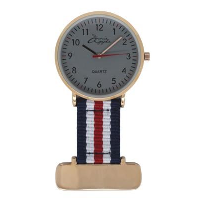 Rose Gold Interchangable Nurses Fob Watch